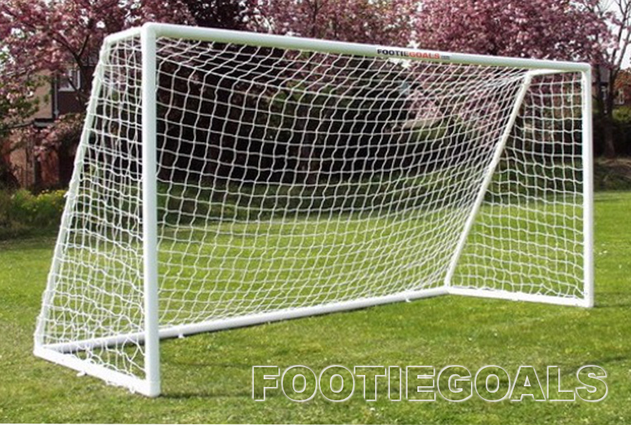 Garden Goals - soccer football goalposts 12'x6'