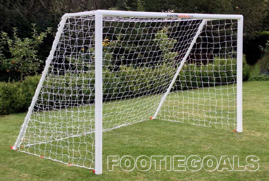 Garden Goals, Kids Goals, soccer football goalpost 8x6