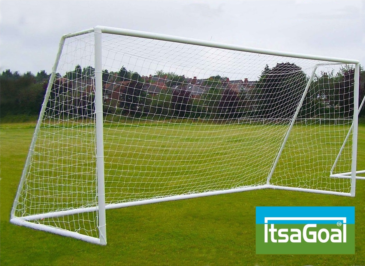 Garden Goals - soccer football goalposts 12'x6' like Samba Goals