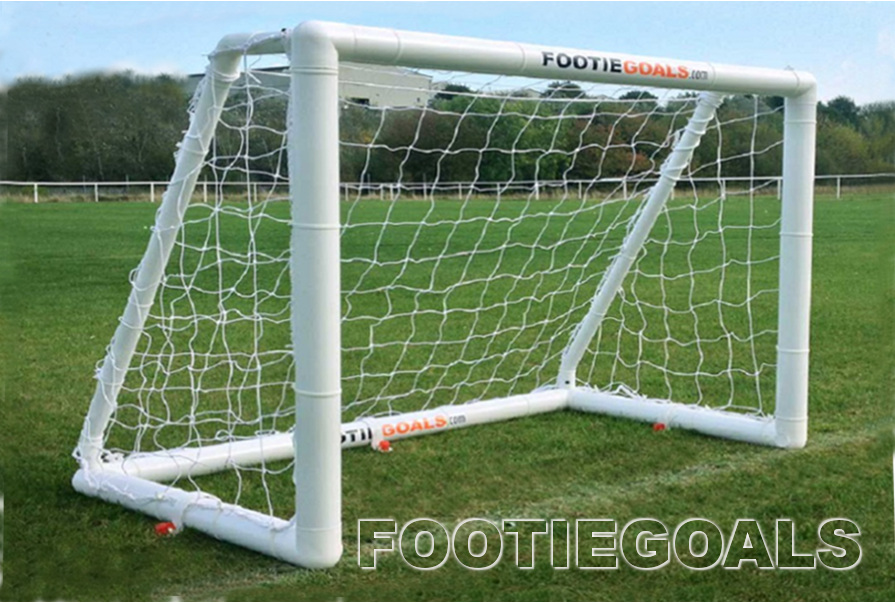 Garden goals, soccer football goalpost 4x3