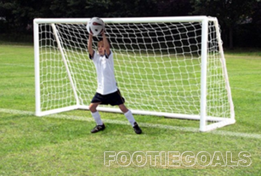 garden Goals, soccer football goalpost 8x4