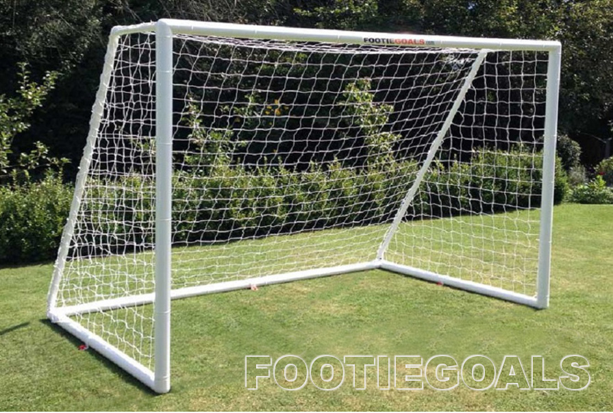 Garden Goals - soccer football goalpost 8x6